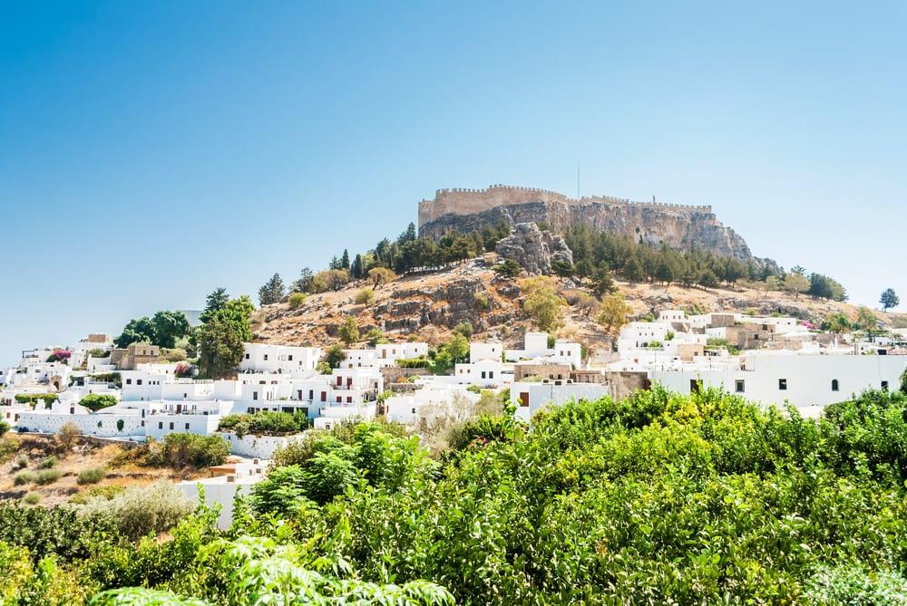 To uger på Rhodos i Grækenland