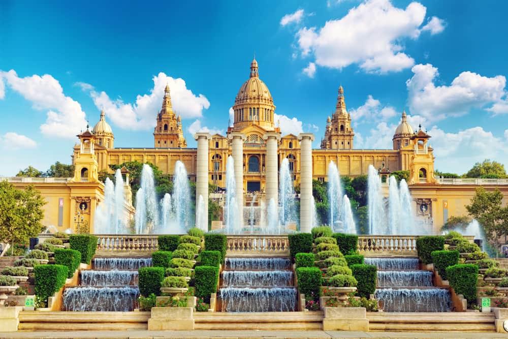Nationalmuseet i Barcelona - Spanien