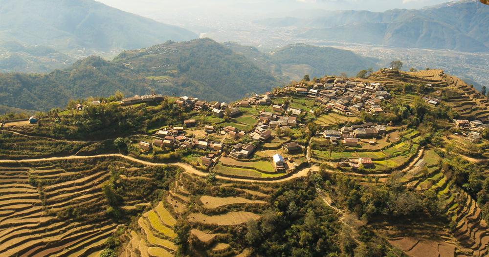 Pokhara i Nepal