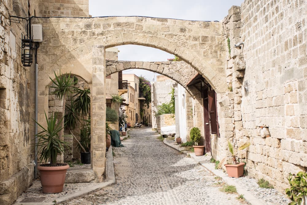 En uges charterferie på Rhodos
