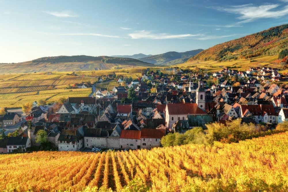Riquewihr - Alsace i Frankrig