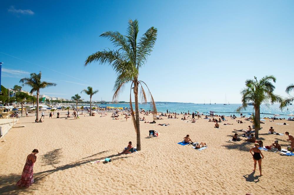 Stranden i Barcelona - Spanien