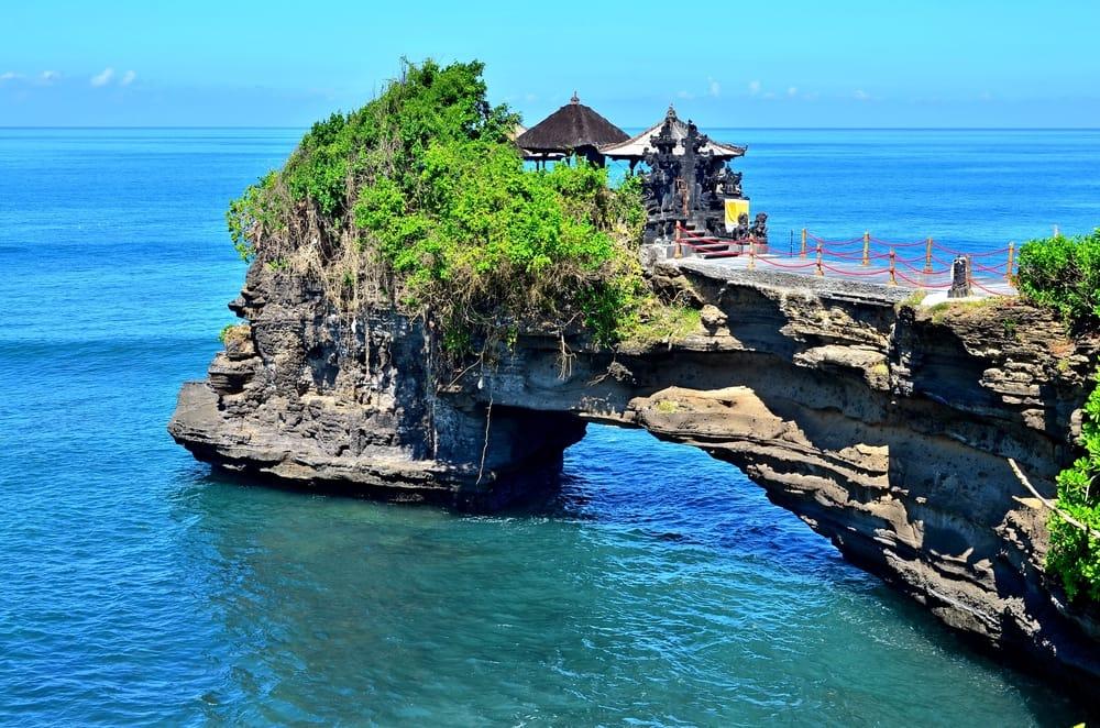 Tanah Lot - Bali i Indonesien