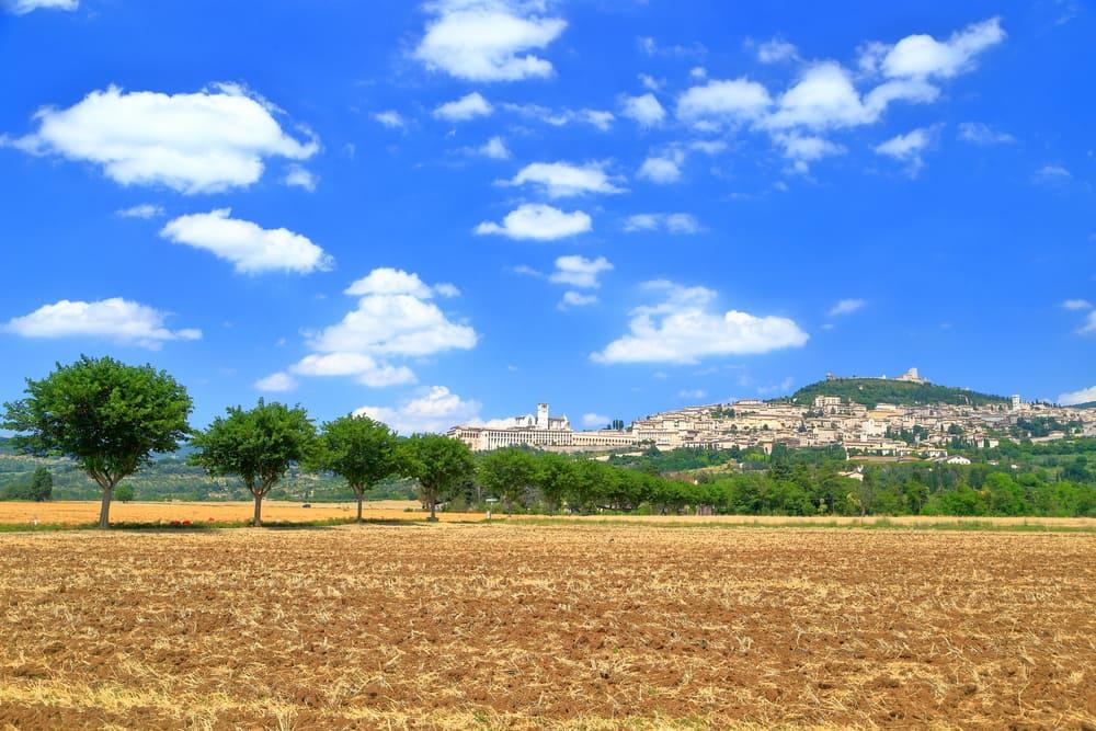 Assisi - Umbrien i Italien