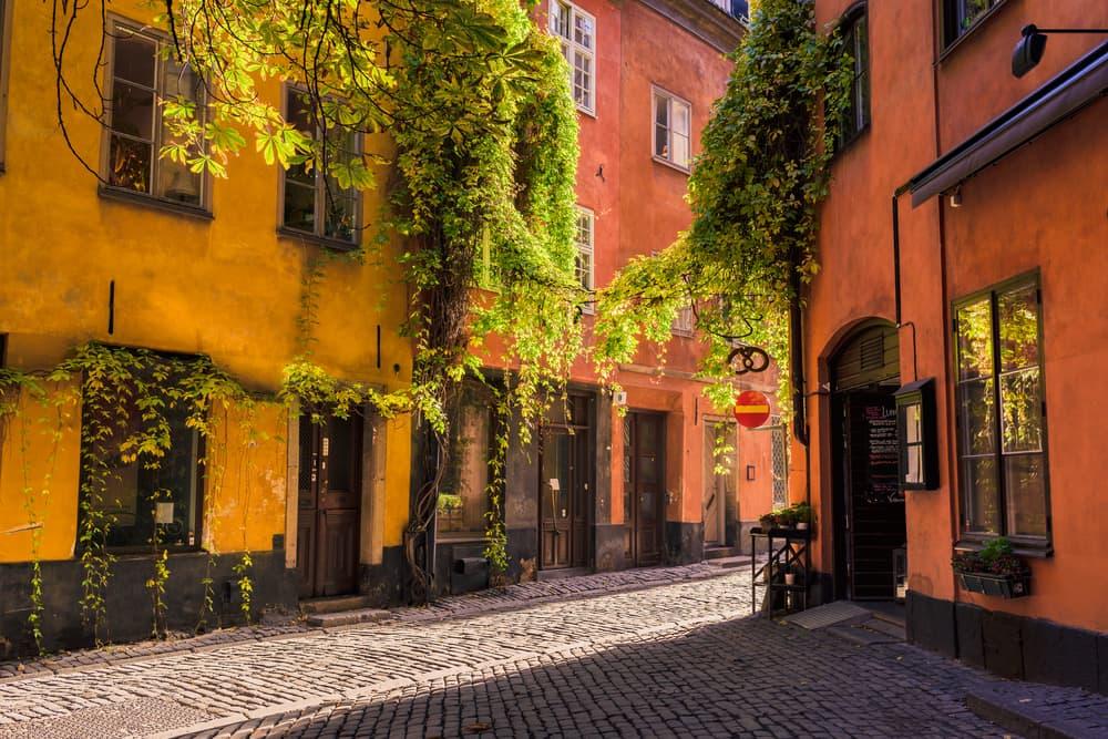 Gamla Stan - Stockholm i Sverige