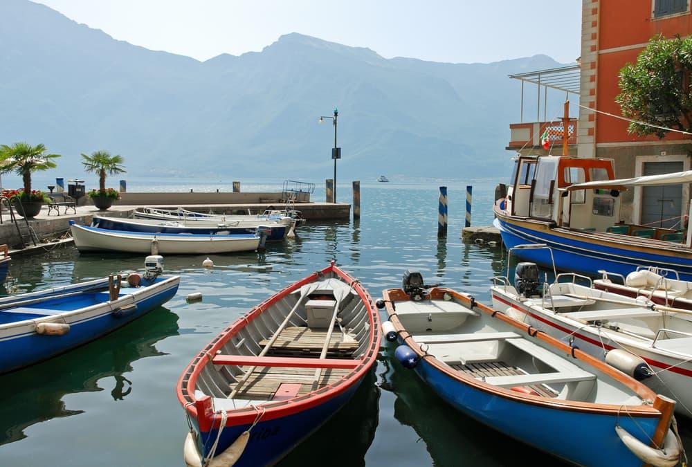 Limone Sul Garda - Gardasøen i Italien