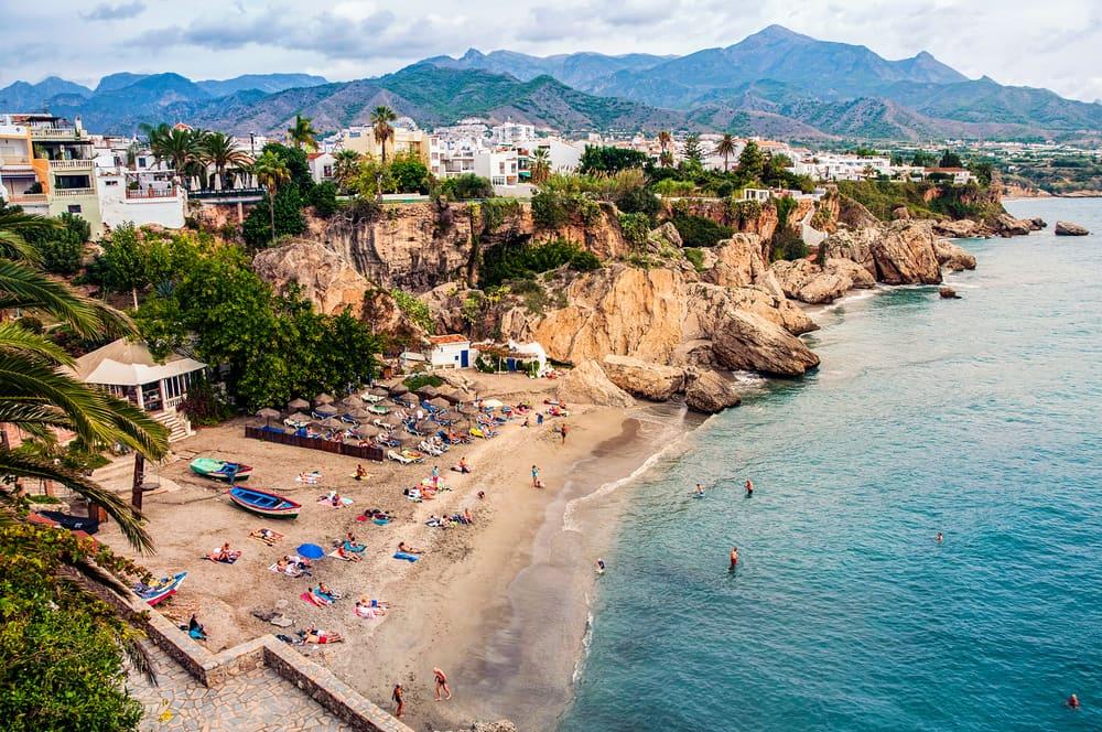 Nerja - Costa del Sol i Spanien