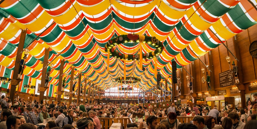 Oktoberfest i München 2017