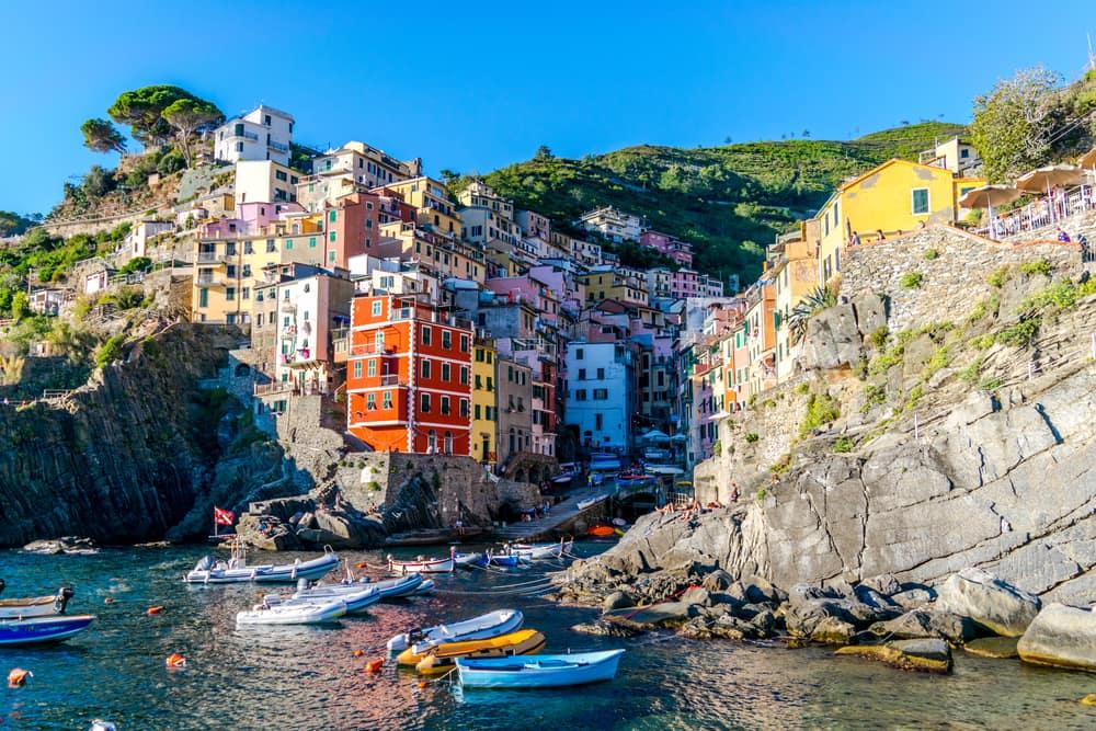 Riomaggiore - Cinque Terre i Italien