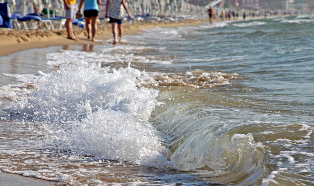 Sunny Beach i Bulgarien
