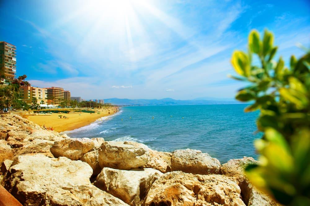 Torremolinos - Costa del Sol i Spanien