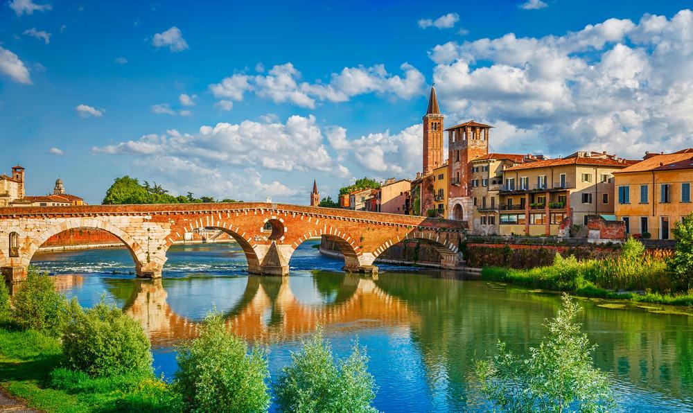 Verona: Veneto-regionen i Italien