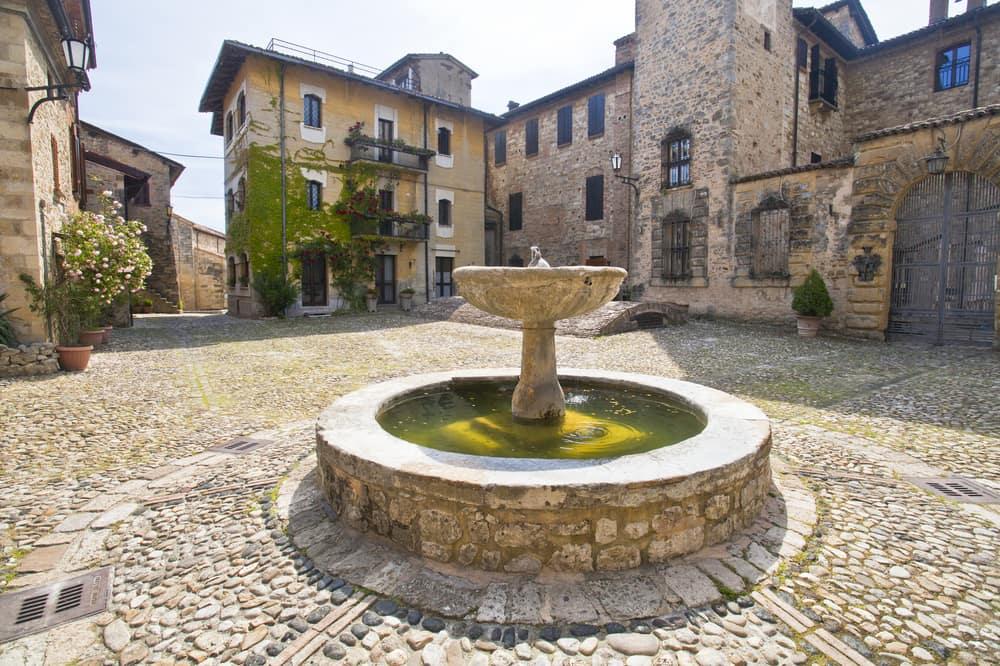 Vigoleno: Emilia-Romagna i Italien