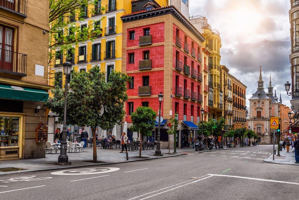 Calle Mayor - Madrid i Spanien