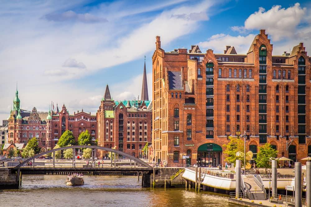 Kør-selv-ferie til Hamborg