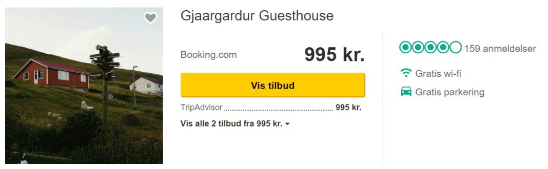 Hotel på Færøerne