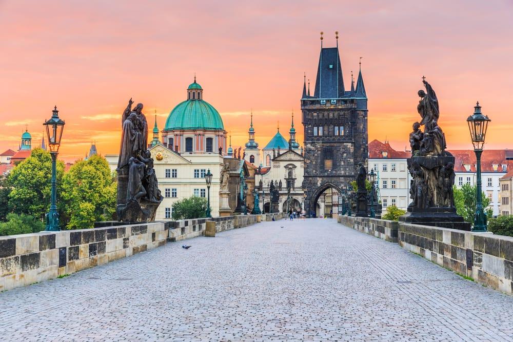 Karlsbroen i Prag - Tjekkiet