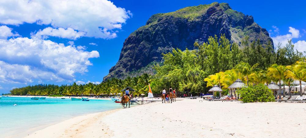 Le Morne - Mauritius i Det Indiske Ocean