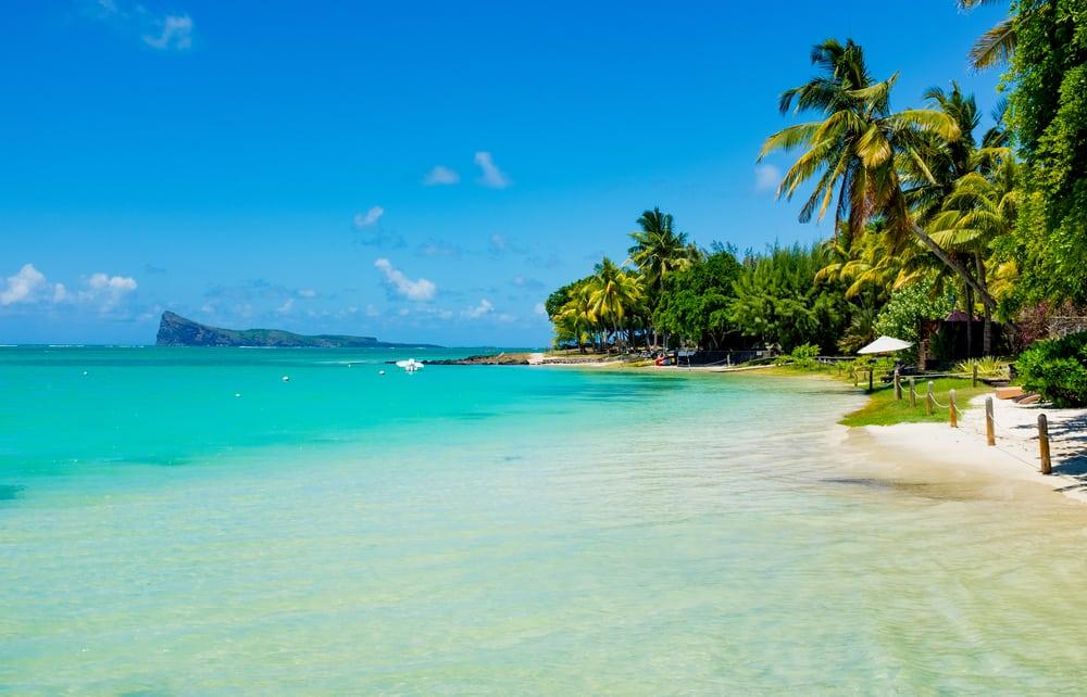 Strand - Mauritius i Det Indiske Ocean