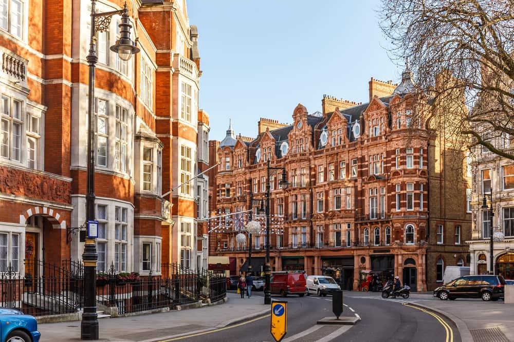 Mayfair - London i England