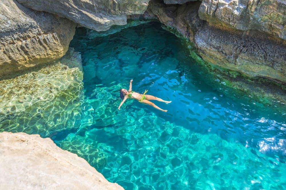 Nær Preveli stranden - Kreta i Grækenland