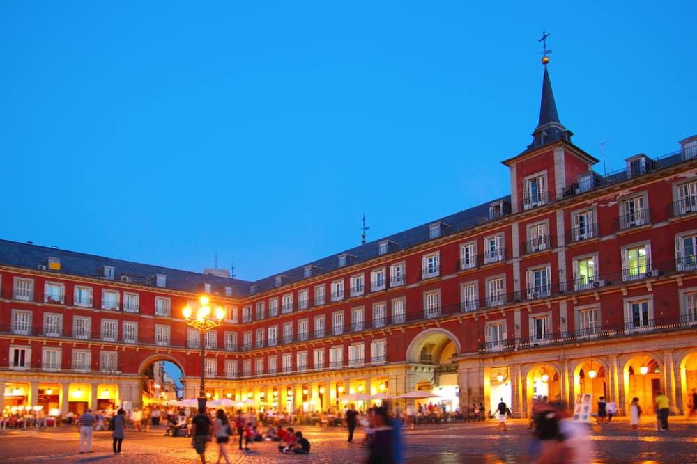 Plaza Mayor - Madrid i Spanien