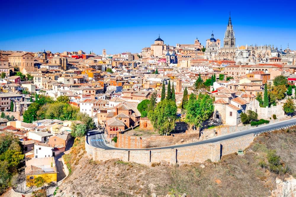 Toledo i Spanien