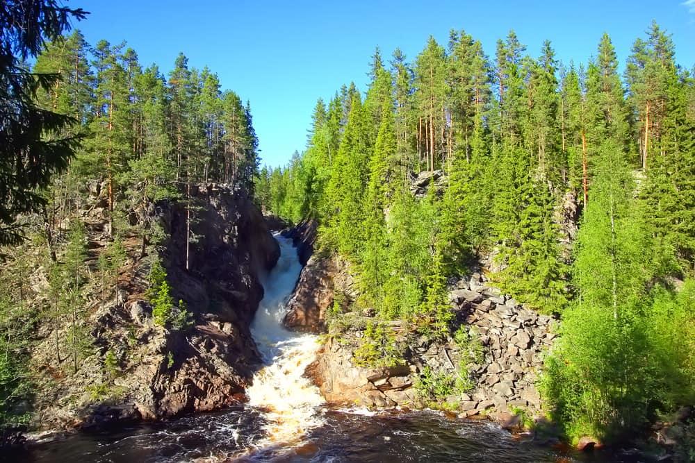 vildmarksferie i Sverige