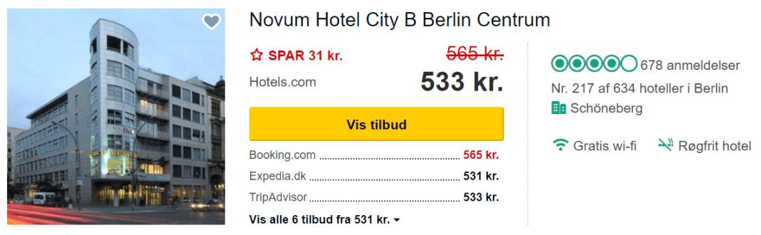 Novum Hotel City B Berlin Centrum - Berlin i Tyskland