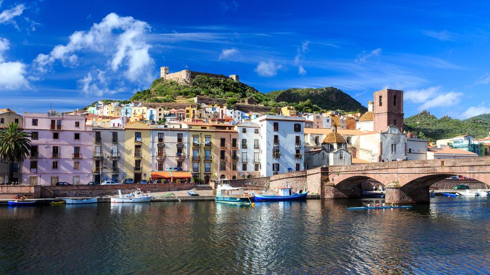 Bosa - Sardinien i Italien