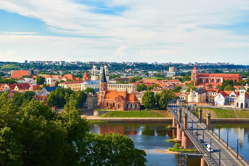 Kaunas i efterårsferien