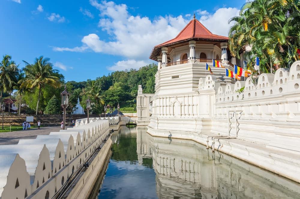 Tempel i Kandy - Sri Lanka