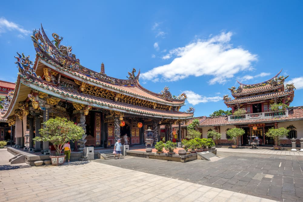 Tempel i Taipei - Taiwan