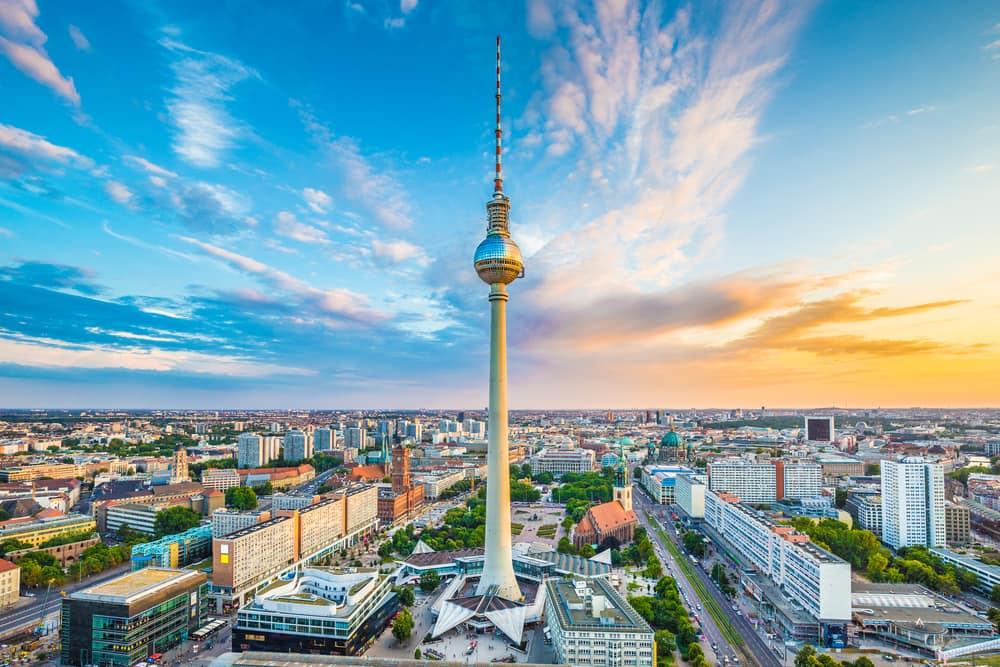 TV Tårnet i Berlin - Tyskland