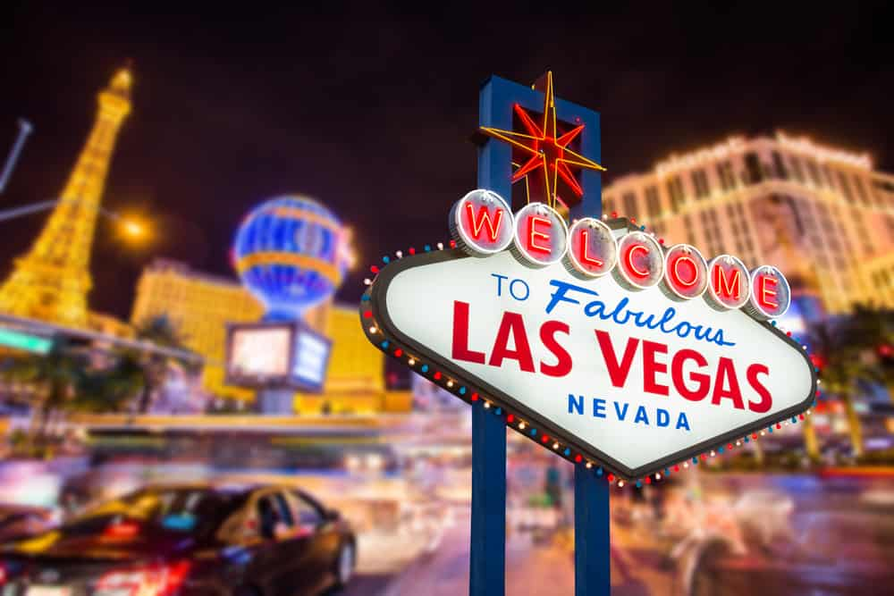 Las Vegas i Nevada - USA