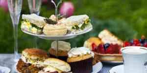 Traditionel britisk afternoon tea