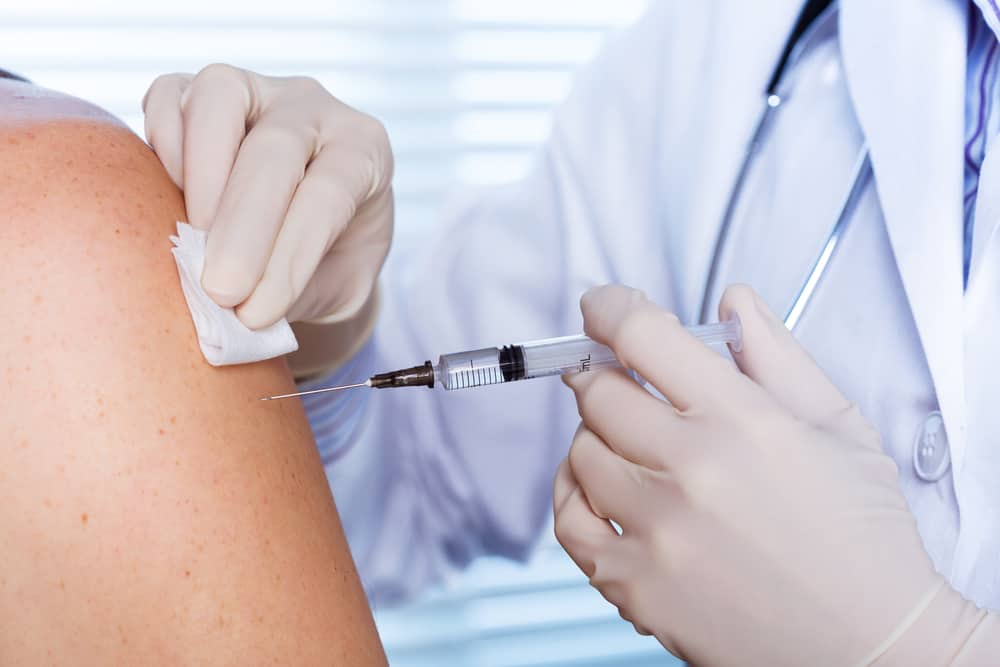 Ferie vaccination