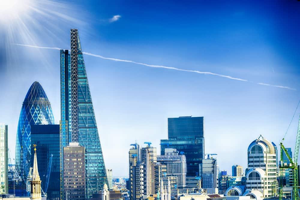 Londons nye skyline