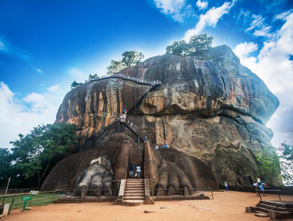 Løveklippen i Sigiriya - Sri Lanka