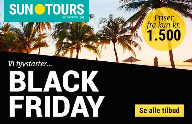 Black Friday hos Suntours
