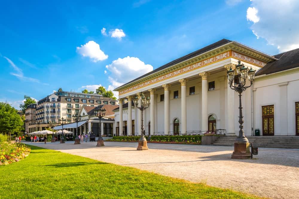 Baden-Baden i Tyskland