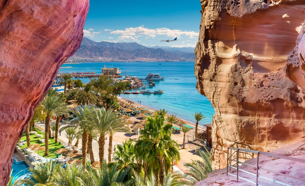 Eilat i Israel