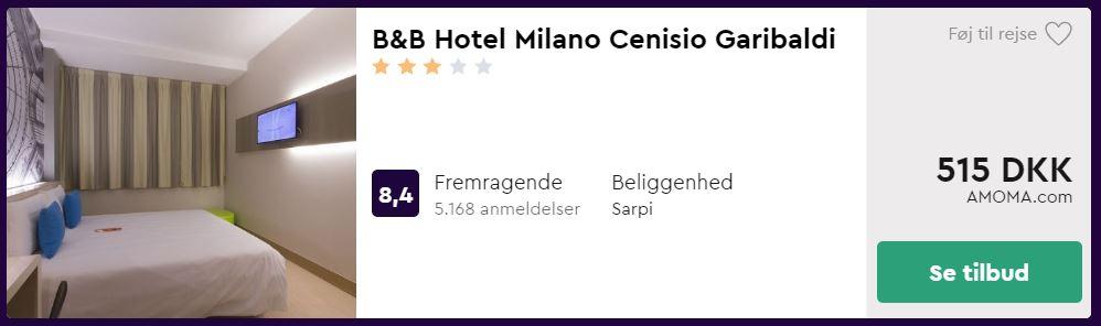 B&B Hotel Milano Cenisio Garibaldi