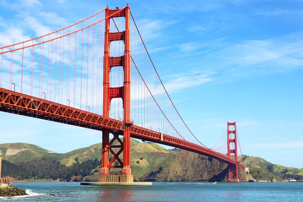 Golden Gate Bridge i San Francisco