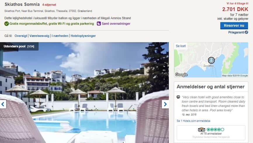 Skiathos Somnia - Hotel i Grækenland