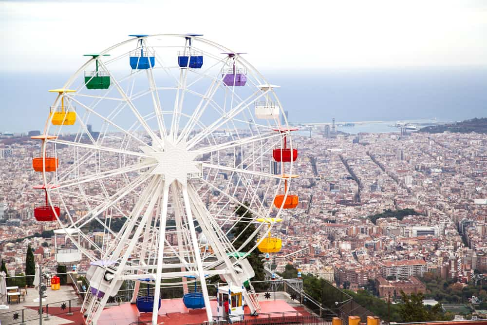 Pariserhjul - Tibidabo Amusement Park