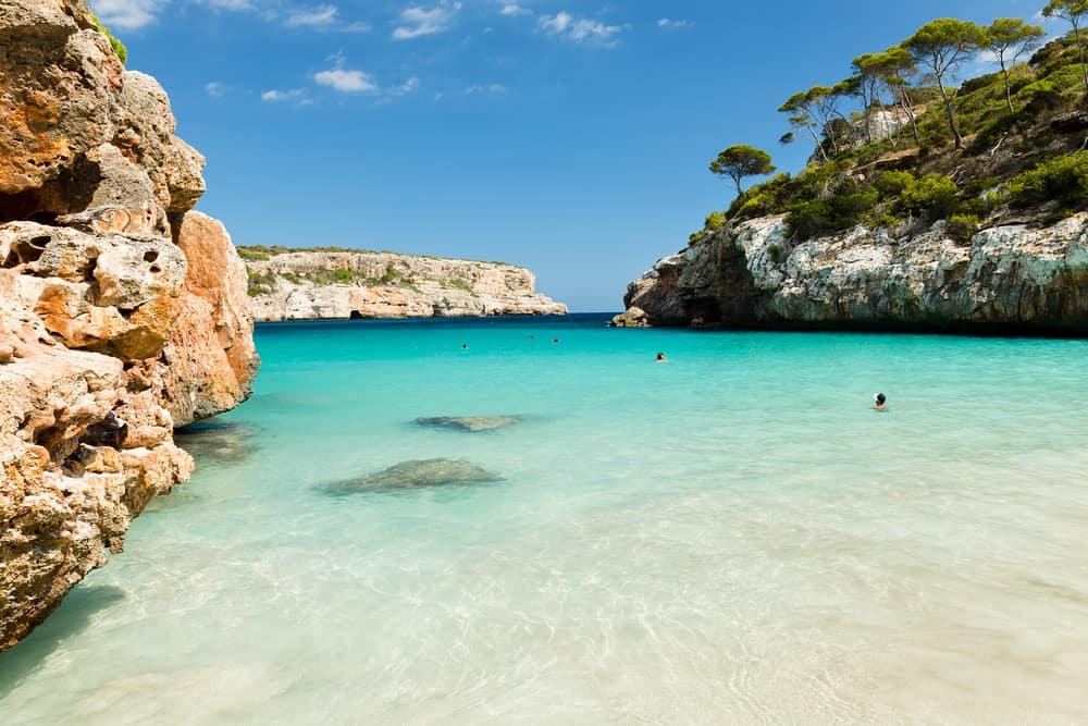Calo des More - Mallorca i Spanien