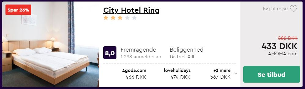City Hotel Ring - Budapest