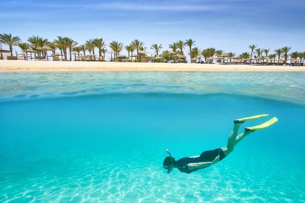 Det Røde Hav - Hurghada i Egypten