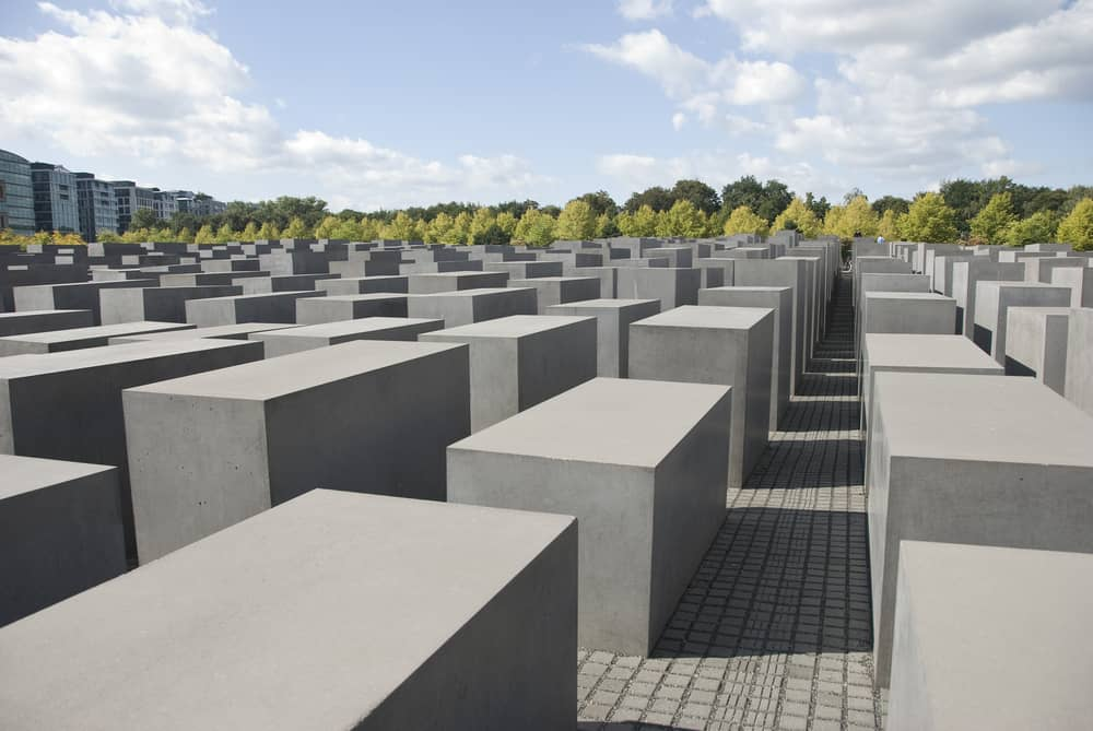 Holocaust mindesmærket i Berlin